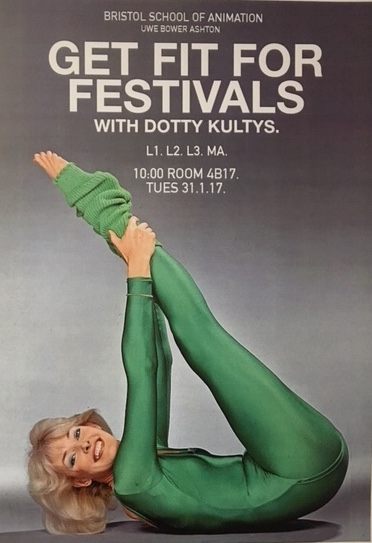 'Get Fit for Festivals' Lecture 2017