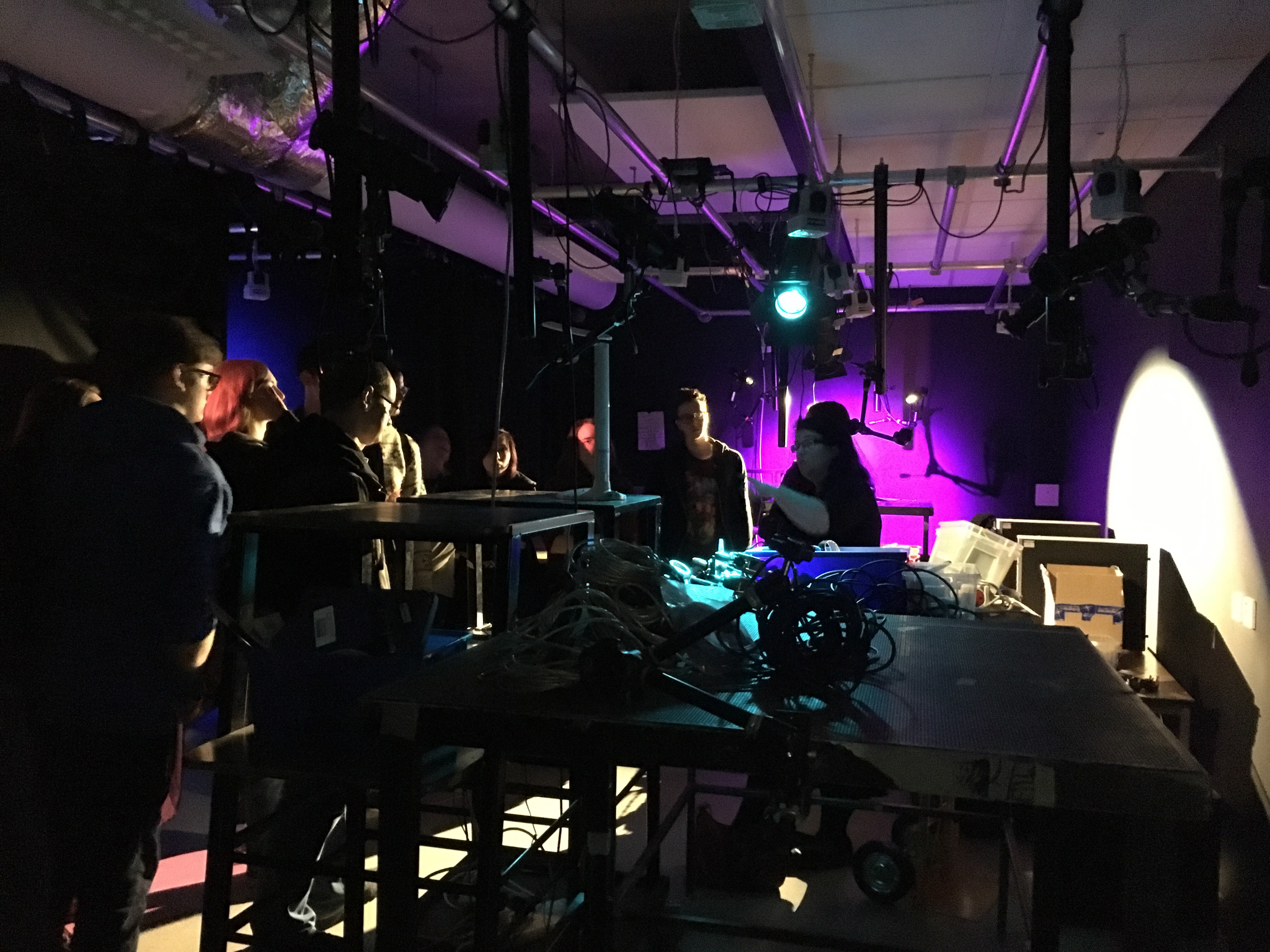 First years tour the new shiny Stop Motion Studios, September 2017