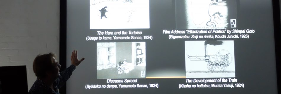 This Week's Guest Lecture –  Jasper Sharp, 'A Centenary of Japanese Animation'